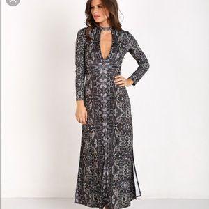 Free People Long Dress